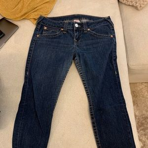 Wine and true religion jeans size 32